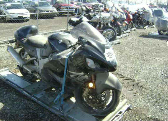 Wrecked cars for sale