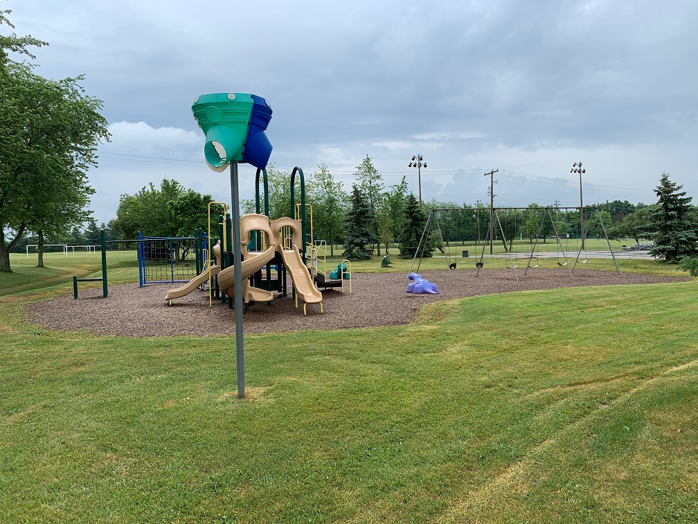 Glanbrook Binbrook Sports Centerplayground - Exploring Glanbrook ~ One Neighbourhood at a time ~ Binbrook