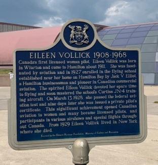 Mount Hope Hamilton Canadian Warplane Heritage Museum Eileen Vollick - Exploring Glanbrook ~ One Neighbourhood at a time ~ Mount Hope