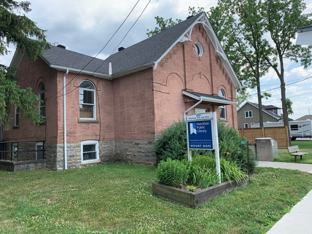 Mount Hope Hamilton Library - Exploring Glanbrook ~ One Neighbourhood at a time ~ Mount Hope