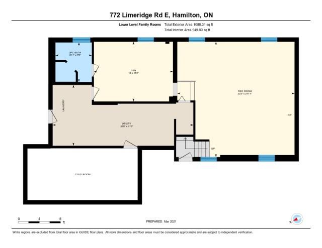 772 Limeridge E Hamilton floorplan2 - Recently SOLD - Central Hamilton Mountain