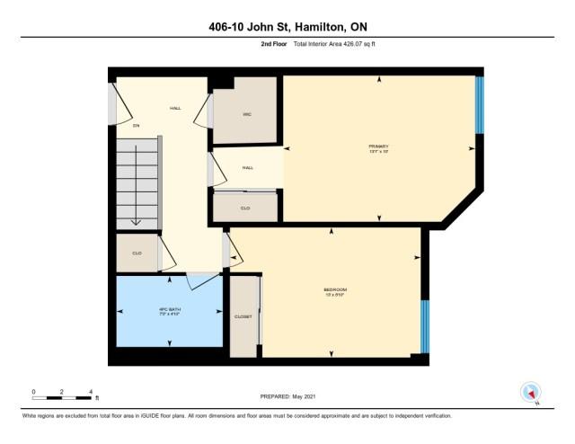 901 floor plan 10 John Dundas upper - Recently SOLD in Dundas