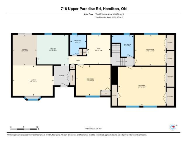 900 716 Upper Paradise Hamilton floor plan 1 - 716 Upper Paradise Road, Hamilton