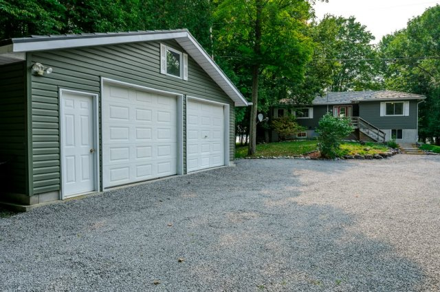 089 26 fire rte 103 bobcaygeon ON garage2 - WATERFRONT ~ 4 SEASON COTTAGE FOR SALE ON PIGEON LAKE