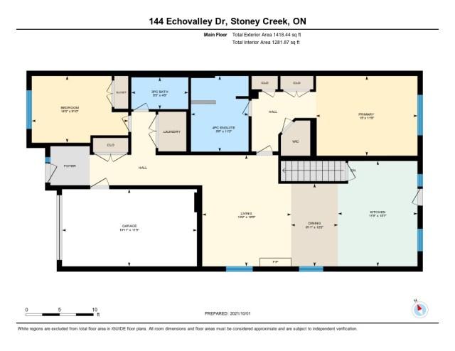 900 floor plan 144 Echovalley Stoney Creek main - Recently SOLD - Stoney Creek Mountain