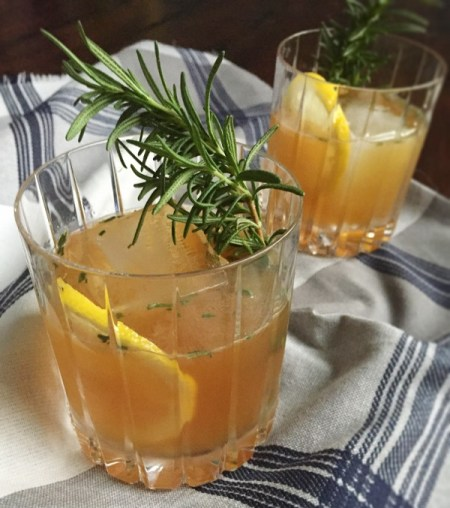 Rosemary Maple Bourbon Sour