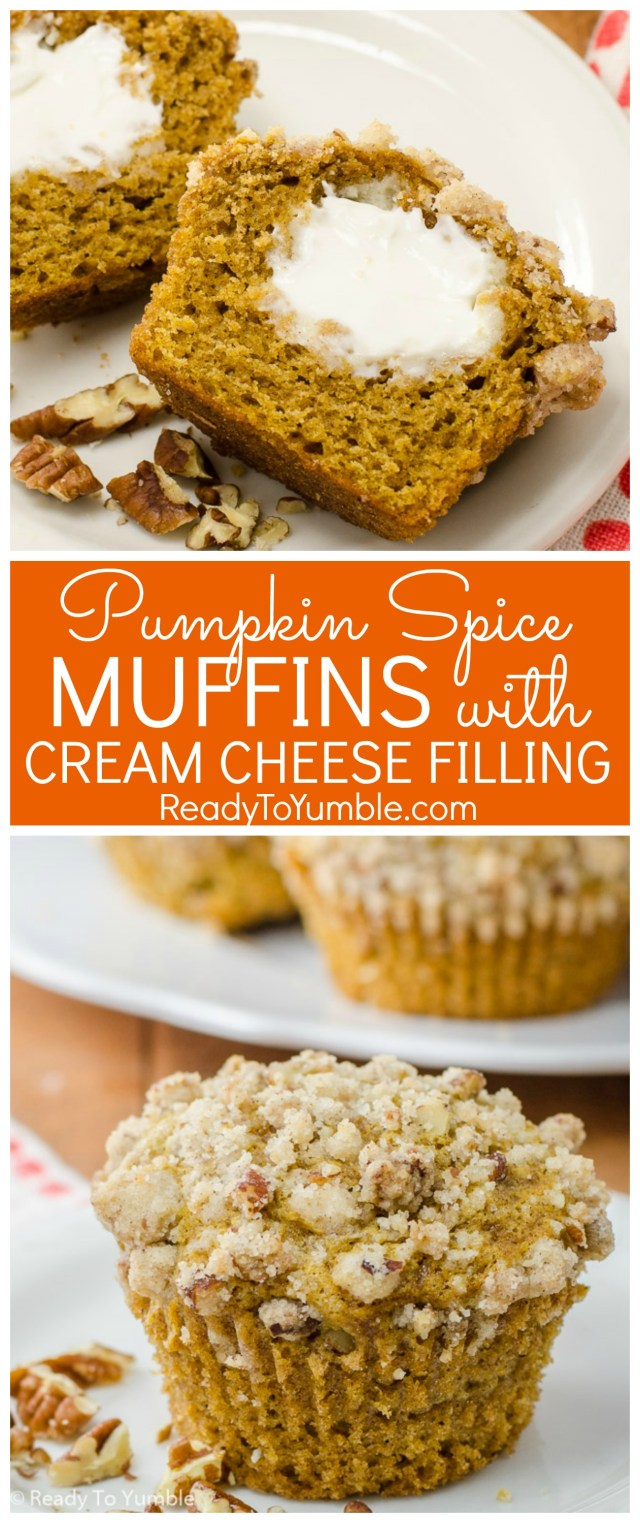 pumpkin-spice-muffins-with-cream-cheese-filling-and-pecan-streusel