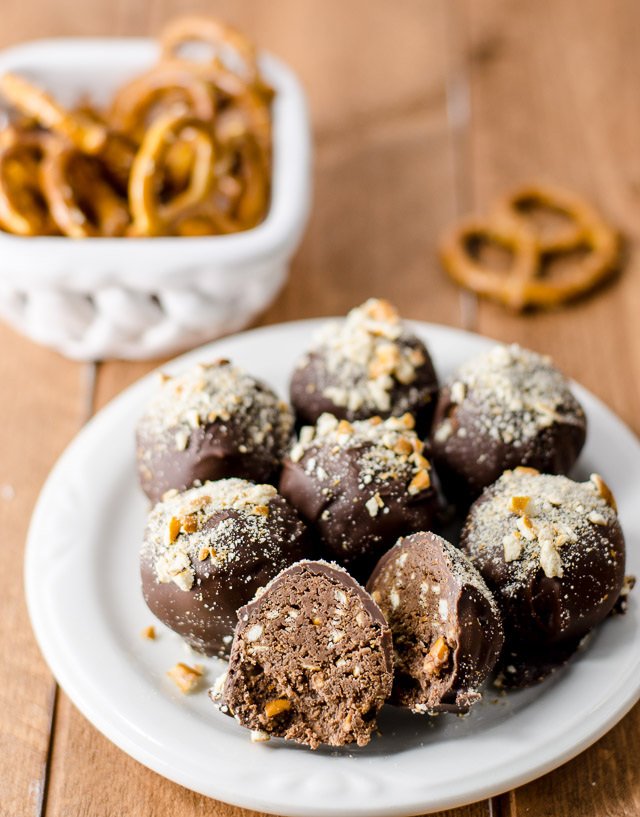 Sweet, salty, and addictive, Nutella Pretzel Truffles satisfy all possible cravings in one perfect bite.