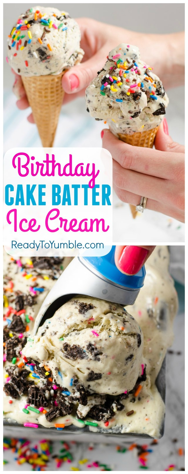 Dont Wait For A Birthday To Try This Cake Batter Ice Cream