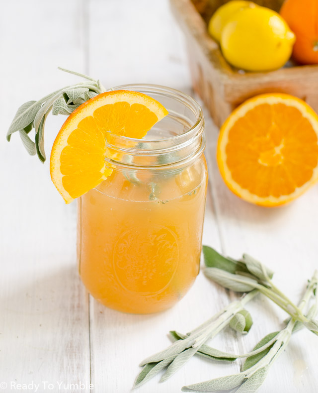 This Sage and Citrus Shandy takes a traditional beer cocktail and pumps it up with three types of citrus and a lightly herbal flavor, for a super refreshing summer drink!