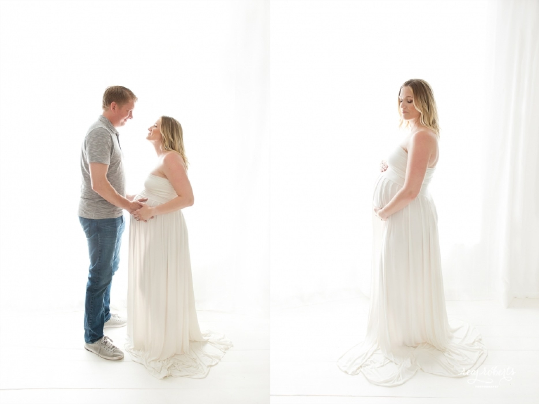 Chandler Gilbert Studio Maternity Session | Reaj Roberts Photography