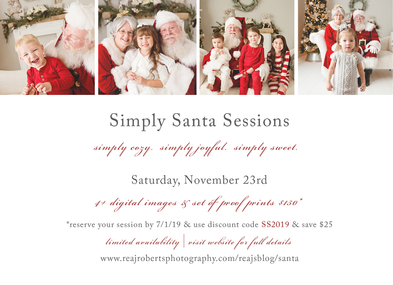 2019 Simply Santa Sessions Chandler Photographer