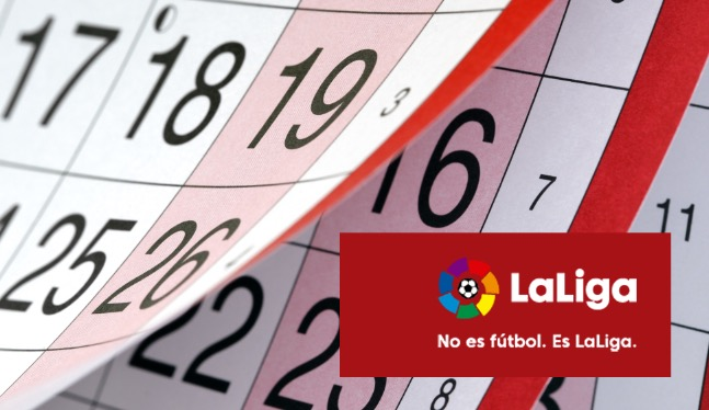 Calendrier Madrid.Real France Calendrier Liga 2019 2020