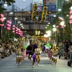 2015年 三鷹阿波踊り 交通規制と場所取り情報