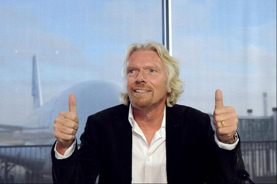 Richard Branson: Reinventing how we live and work to become a force for good