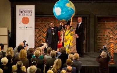 Desmond Tutu announces nominees for International Children's Peace Prize 2015