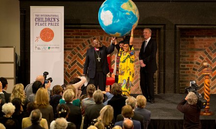 Desmond Tutu announces nominees for International Children's Peace Prize 2015
