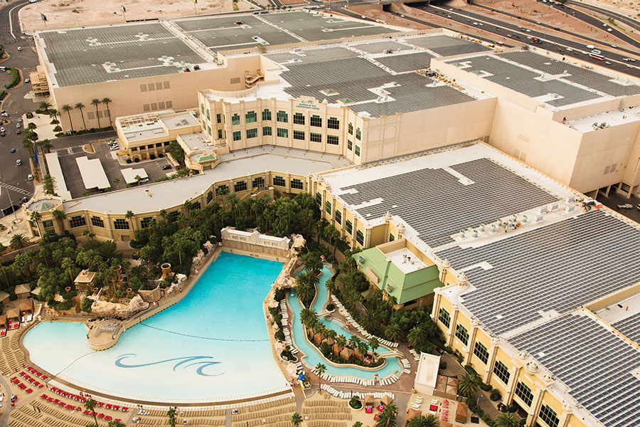 Got solar? MGM Resorts has installed one of the nation's largest rooftop solar arrays.
