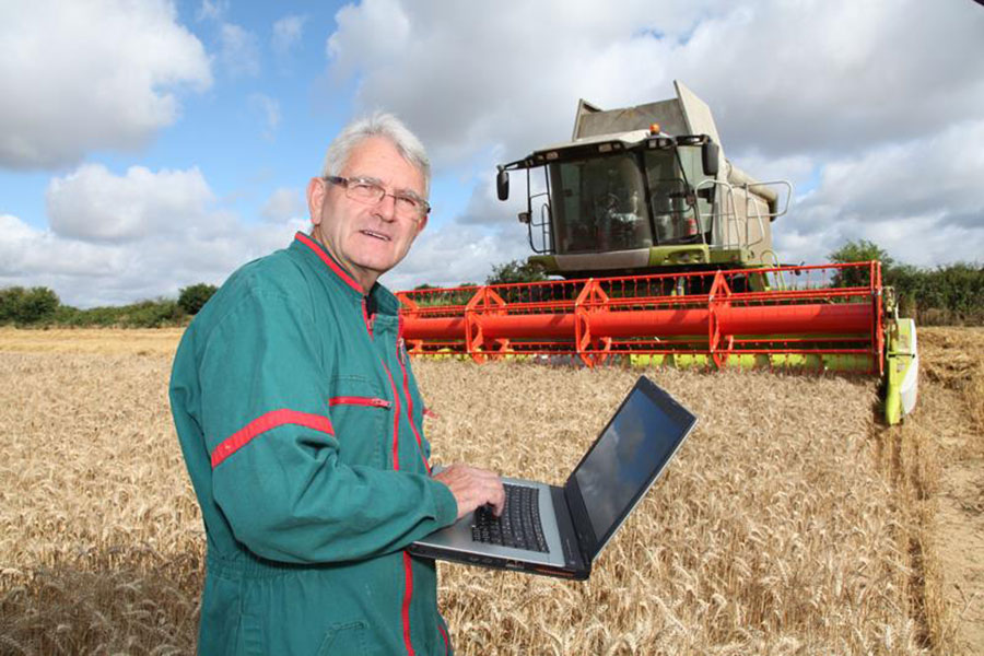 Modern Farming Technology Helps Keep Food On The Table