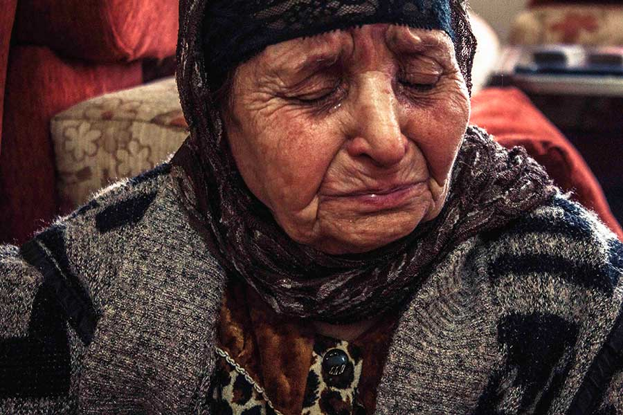 Warda, 85-years-old, Syria.