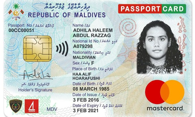 Maldives Introduces Most Innovative ID Card