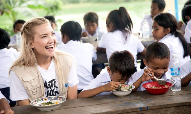 Kate Hudson And Michael Kors Fight Hunger in Cambodia