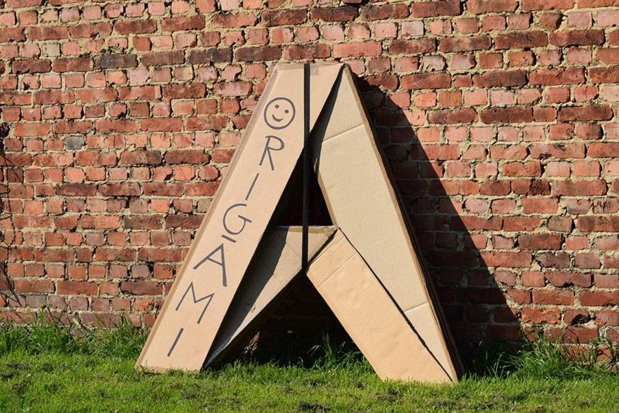 Housing The Homeless: Cardboard Tents Sprout in Brussels