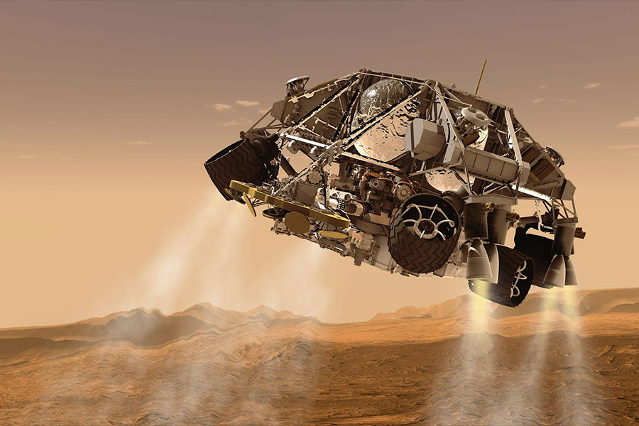 U.S. Tests Nuclear Power System to Sustain Astronauts on Mars