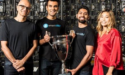 Prosthetic Hand Wins Microsoft 'Hackathon'