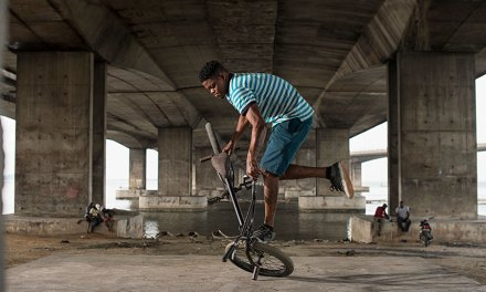 The Two-wheel Trend in Africa Turning Youth From Crime