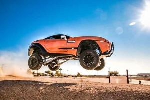 Rally Fighter с 430-сильным мотором V8