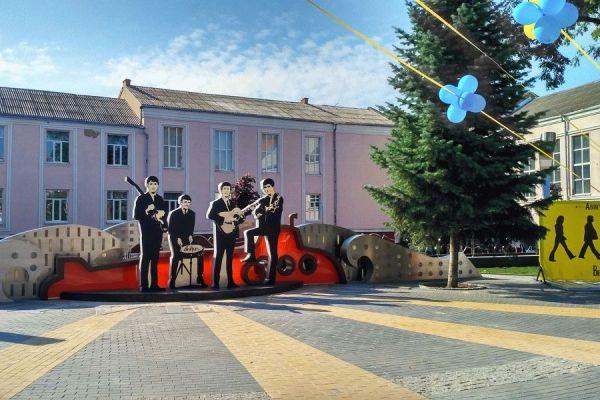 В Виннице открыт обновленный сквер «Ливерпуль»   Реал ...