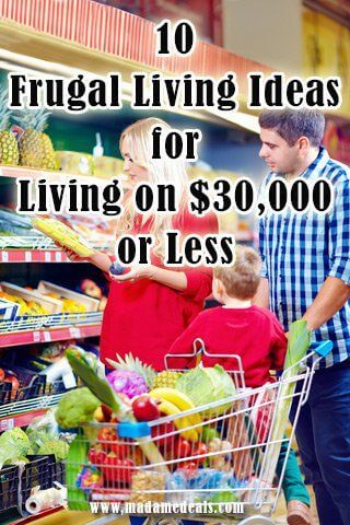 Are you trying to save money for your family? We have easy Frugal Living Ideas for Living on 30000 or Less