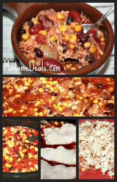 low calorie crock pot chicken taco soup recipe  real advice gal
