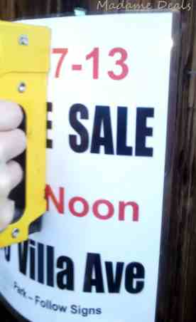 6 Keys to a Successful Yard Sale