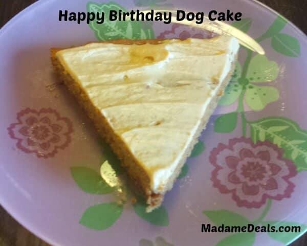Dog Cake 1