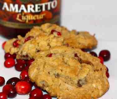 Amaretto cookies