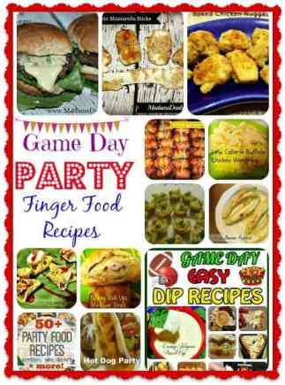 party finger food recipes