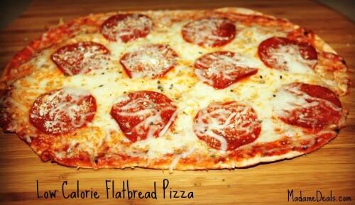 Low Calorie Pizza