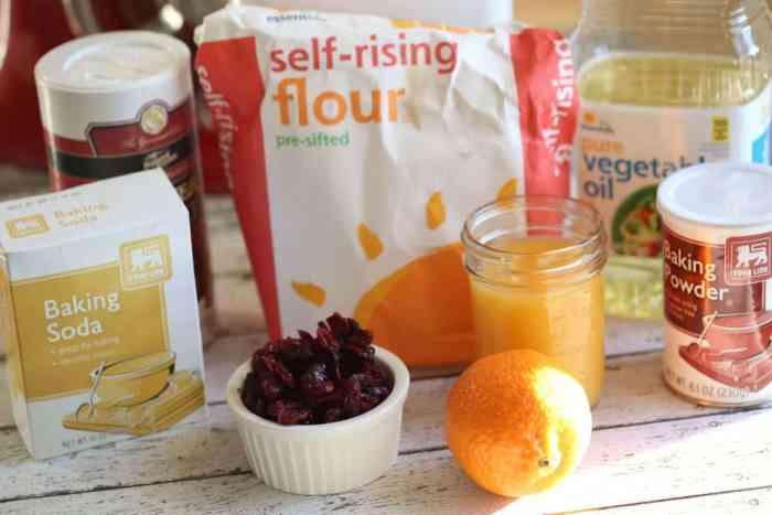 cranberry orange muffin recipes