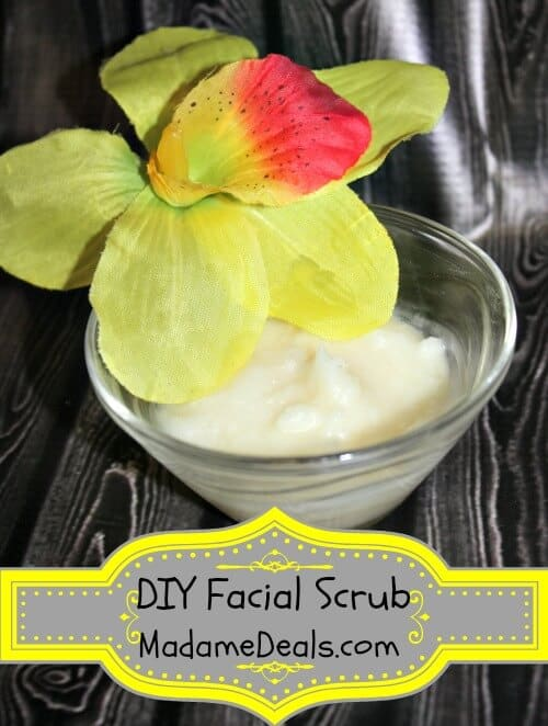 DIY Facial Scrub
