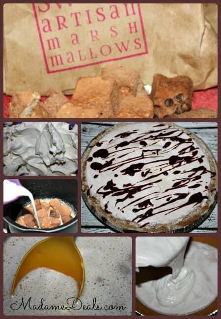 Marshmallow Cheesecake Steps
