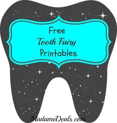 Tooth Fairy Printable main