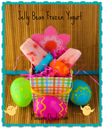 jelly bean frozen yogurt