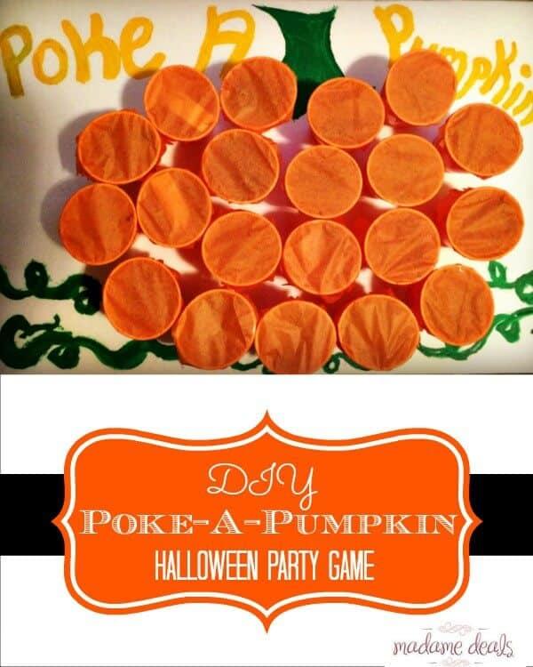 DIY Halloween party game