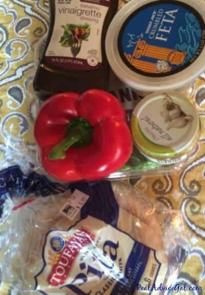 feta pita sandwich ingredients