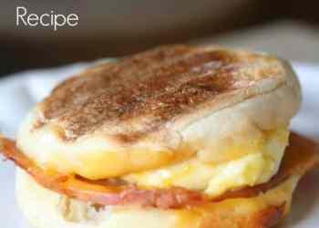 Homemade Egg McMuffins Recipe