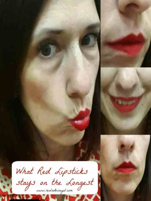 what red lipstivk stays on