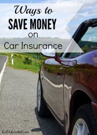 Ways to save money on Car Insurance