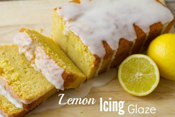 Lemon Icing Glaze Recipe